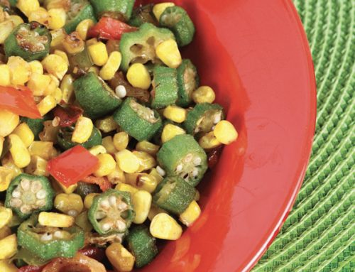 Okra & Corn