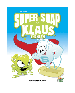 The Story of Super Soap vs. Klaus the Germ